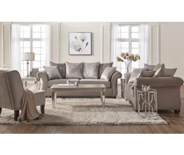 Agnes 2 Piece Living Room Set