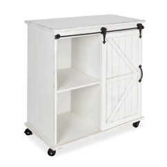 Rolling Kitchen Cabinet Top Appliances Gracie Oaks Banbury Multi Purpose Wooden Cart Wayfair