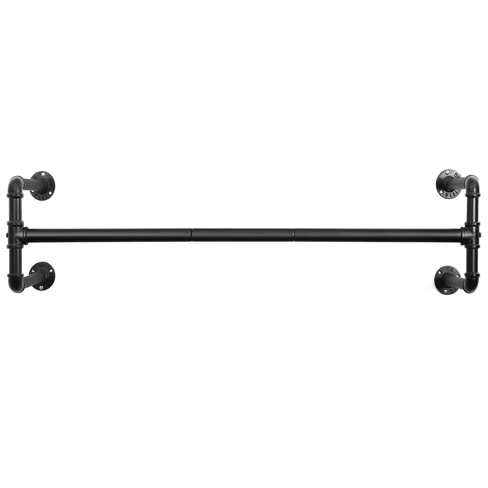 holms 43 3 wall mounted clothes rack