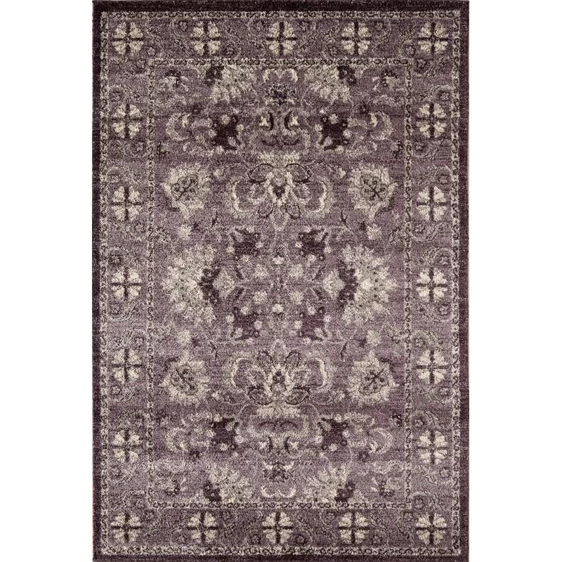 Lavender Area Rug Rug Size: Rectangle 710 x 1010
