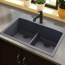 best undermount kitchen sinks cabinet plans you'll love | wayfair