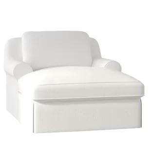 white chaise chair mat walmart lounge chairs you ll love wayfair adamsburg