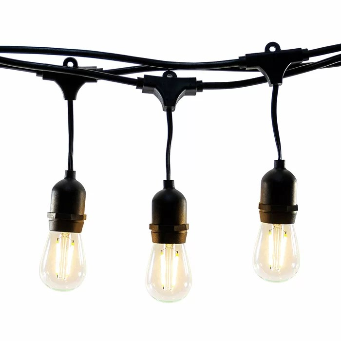 string deck lights