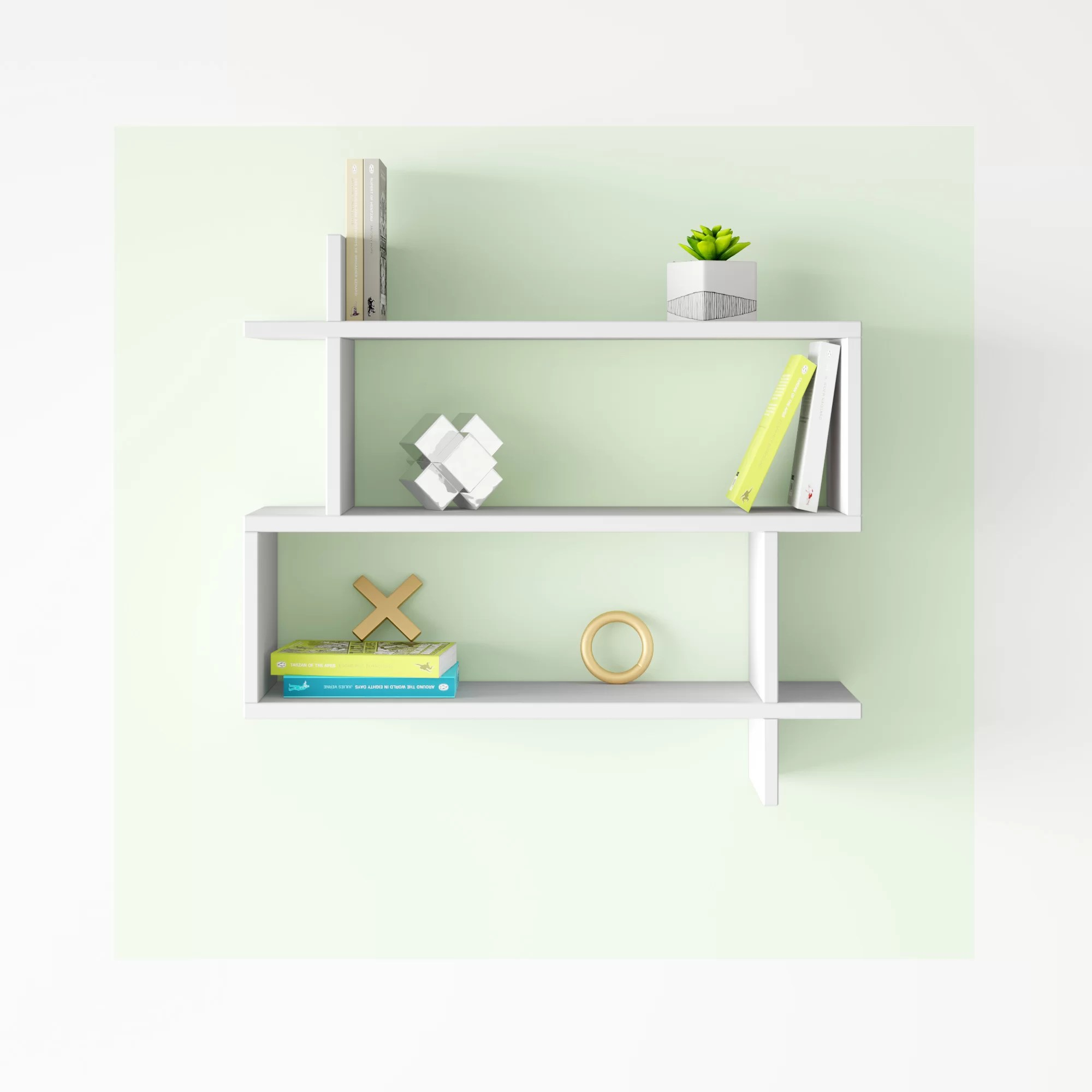 Hashtag Home Whitman Modern Wall Shelf Reviews Wayfair