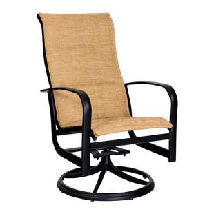 patio swivel rocker chairs teak outdoor chair rockers wayfair fremont padded dining