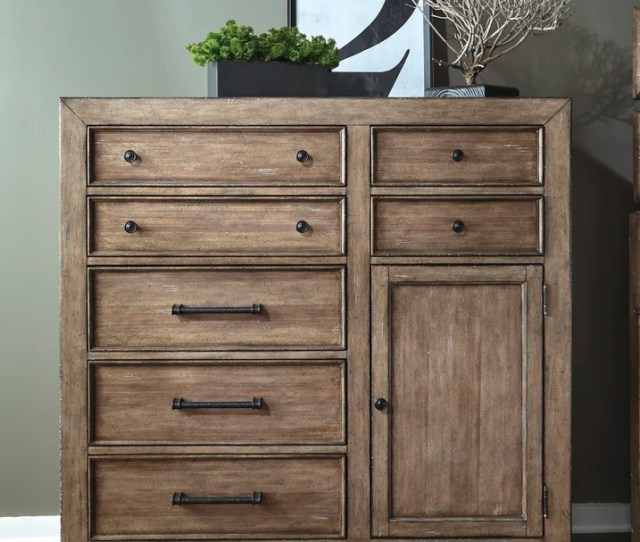 Fort Oglethorpe  Drawer Combo Dresser