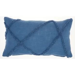 modern lumbar throw pillows allmodern