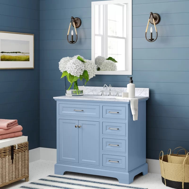 Goodfield 36 Single Bathroom Vanity Set Reviews Birch Lane