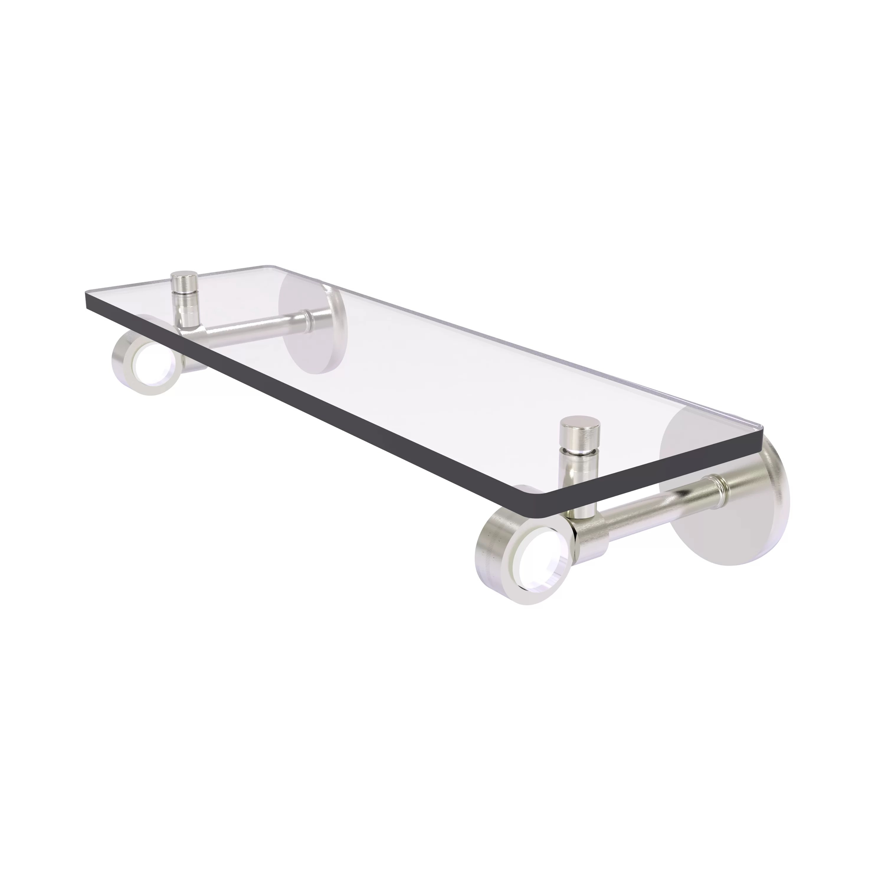 Margolis Glass Floating Wall Shelf