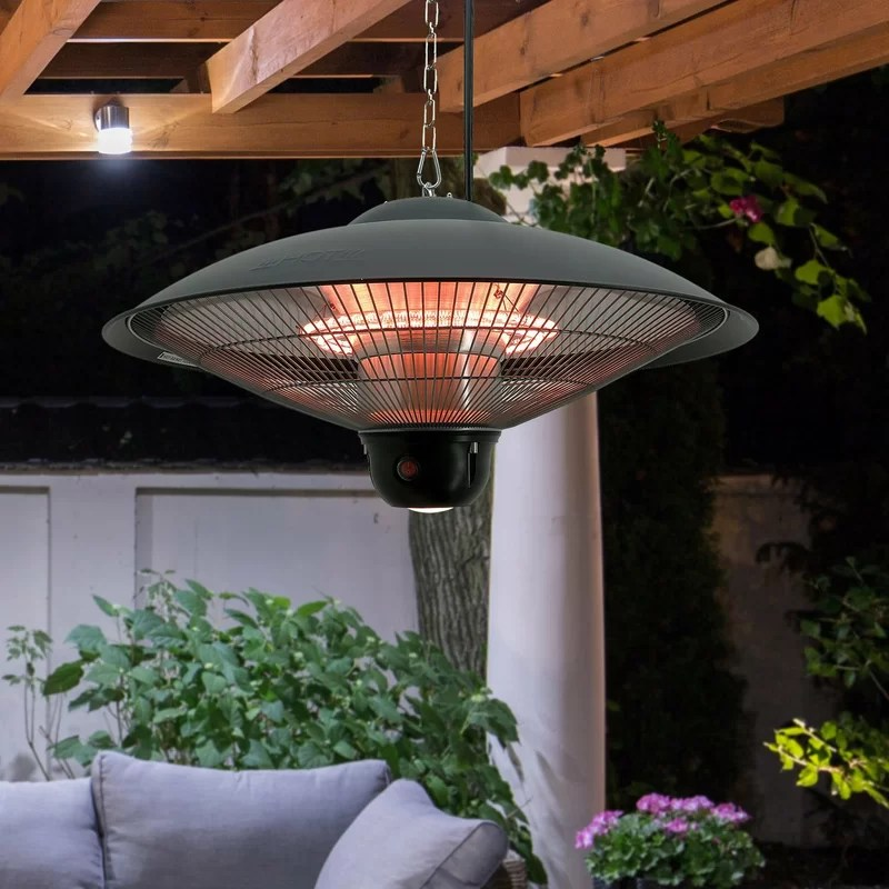 ceiling 1500 watt electric hanging patio heater