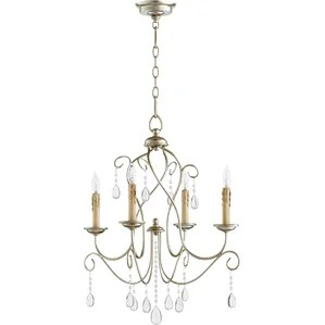 Cilia 4 Light Candle Style Chandelier