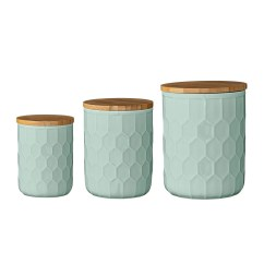 Canisters Kitchen Tables And Chairs Sets Scandinavian 3 Piece Canister Set Reviews Joss Main