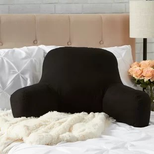 dorm chair covers etsy where to hire tables and chairs backrest pillows you ll love wayfair quickview