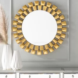 gold mirrors you ll
