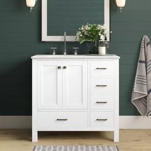 aneira full cabinet 36 single bathroom vanity set