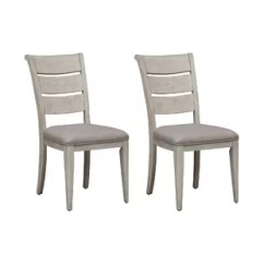 How To Replace Cane Back Chair With Fabric Modern High Chairs Uk French Dining Wayfair Konen Ladder Upholstered Set Of 2