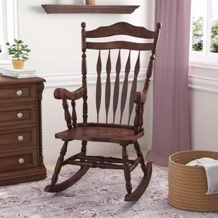 old fashioned rocking chairs how to recover chair cushion you ll love hanlon