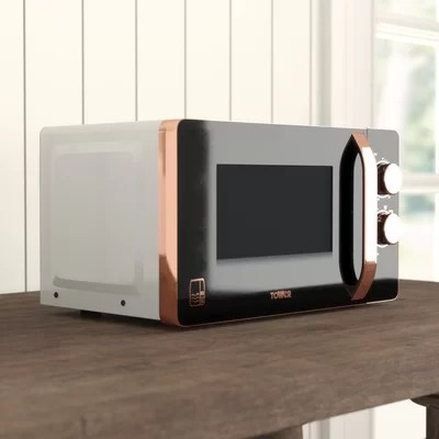 rosegold 20 l 800w countertop microwave