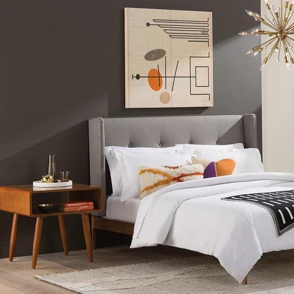 modern mid century bedroom allmodern