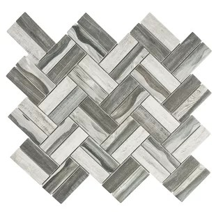 recycle 1 x 3 mosaic wall floor tile