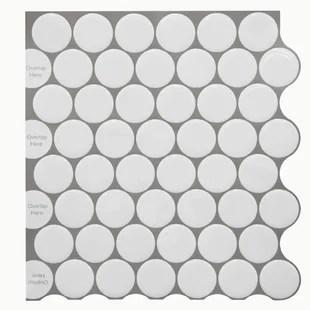 12 x 12 pvc peel stick mosaic tile