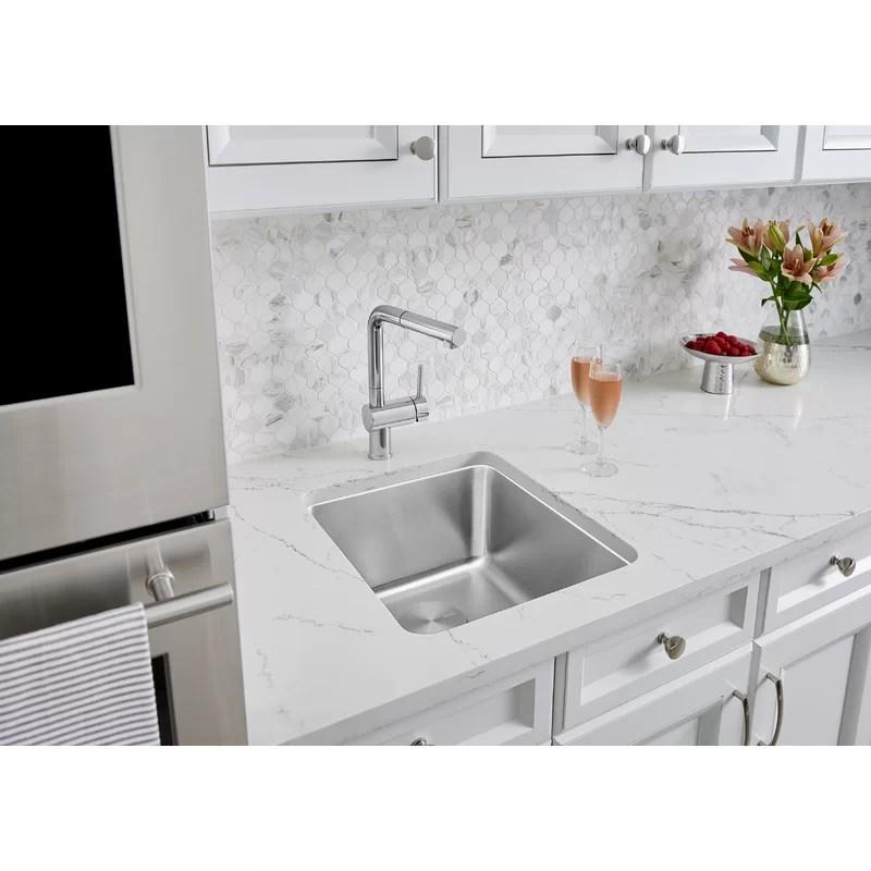 formera 16 l x 16 w undermount bar sink