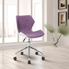 Lilac Office Chair Dining Covers Bed Bath And Beyond Purple Chairs You Ll Love Wayfair Quickview