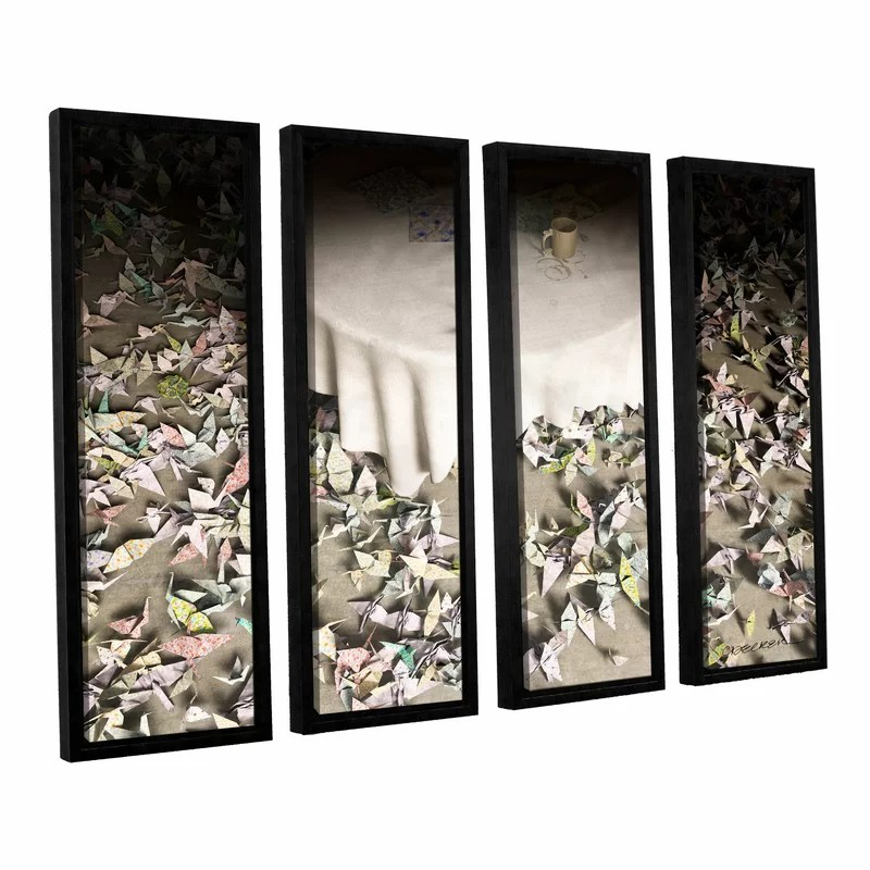 The Perfectionist by Cynthia Decker 4 Piece Framed Photographic Print on Canvas Set Size: 24 H x 32 W x 2 D
