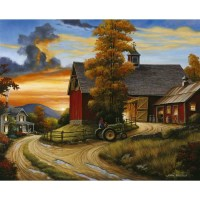August Grove 'Farm Scene' Graphic Art Print