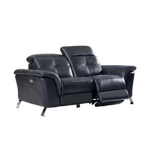 electric recliner sofa not working black with oak furniture loveseat wayfair tom leather reclining