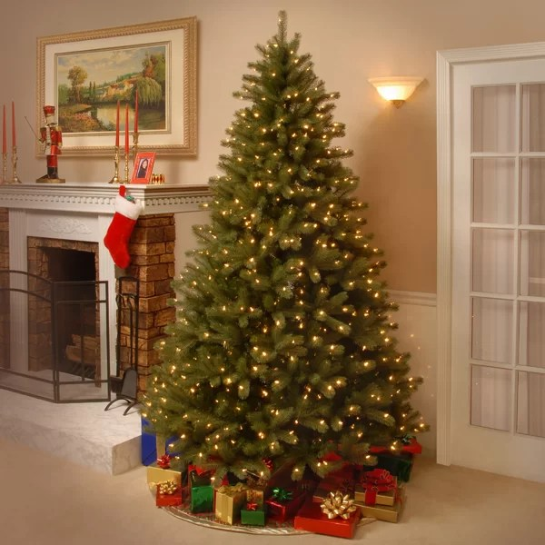 National Tree Co Lakewood 75 Green Spruce Artificial
