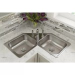 Elkay Dayton 32 L X 32 W Double Basin Drop In Kitchen Sink Reviews