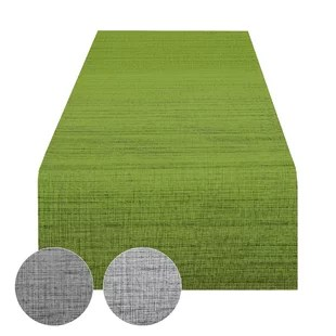 sage green table runner