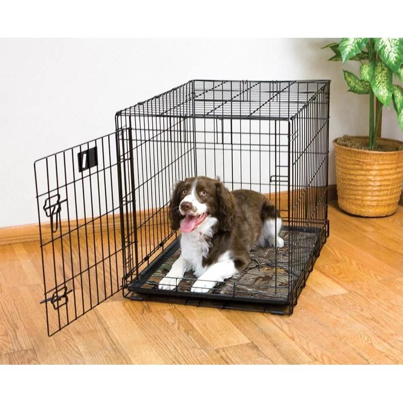 Real Tree Xtra Dog Crate Mat Size: Medium (36 L x 23 W)
