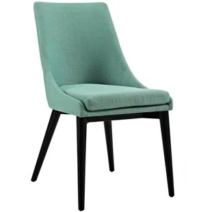 green upholstered dining chairs modern white chair allmodern quickview