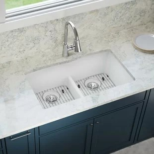 deep kitchen sink affordable kitchens and baths 12 inch sinks wayfair classic 33 x 19 double basin undermount