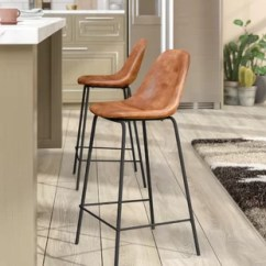 Bar Chairs With Arms And Backs Wrought Iron Dining Table Stools Counter Joss Main Quickview
