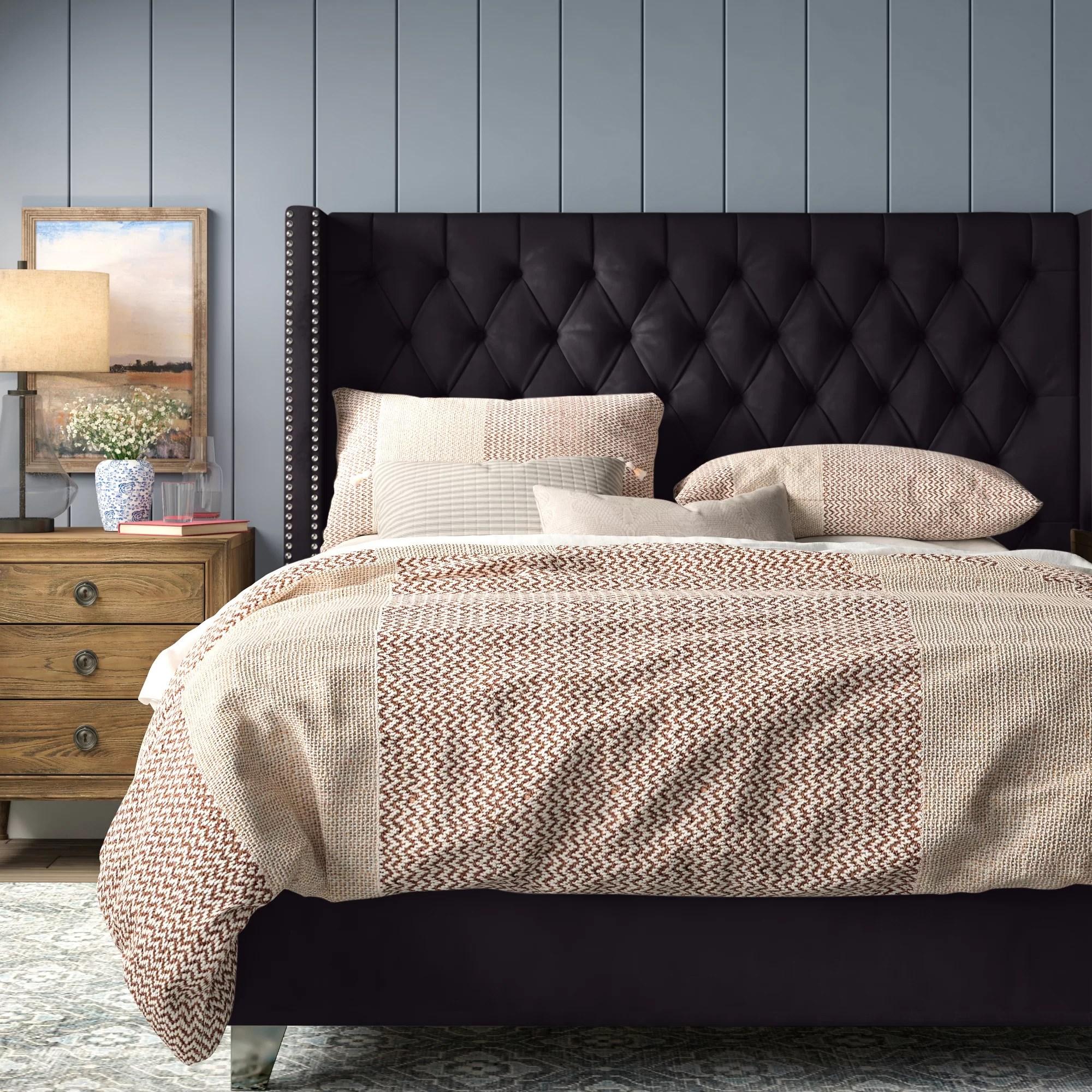 Brynn Upholstered Platform Bed Reviews