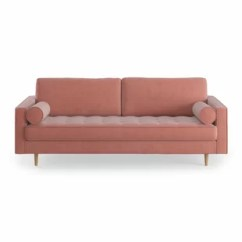 Pink Sofas Toddler Flip Sofa Cover Modern Couches Allmodern Quickview