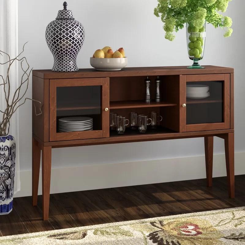 Red Barrel Studio Oakford Wood Buffet Table Amp Reviews