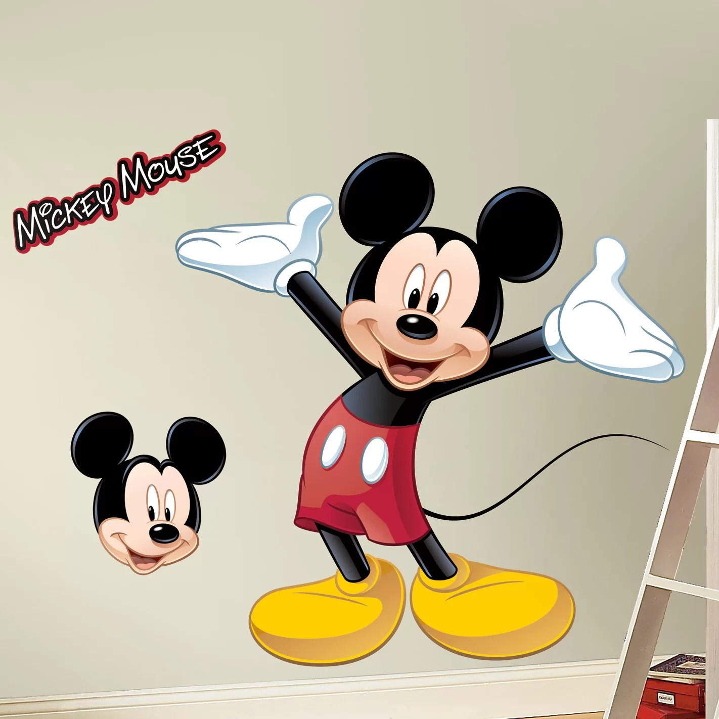 Room Mates Mickey Mouse Wall Decal Reviews Wayfair