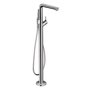 talis s single handle floor mounted freestanding tub filler trim with hand shower