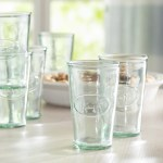 Farmhouse Rustic Glass Drinkware Birch Lane