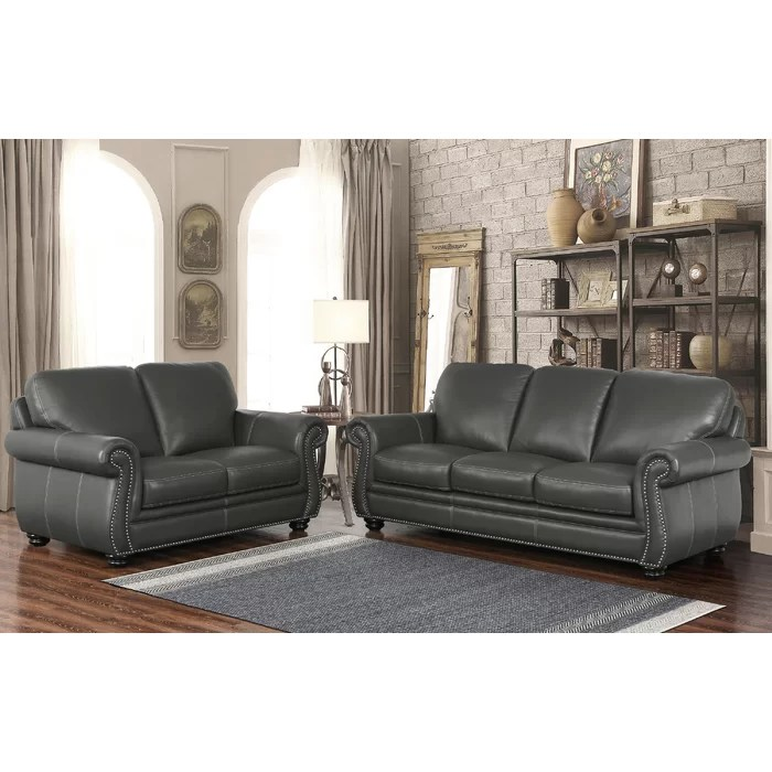 modern leather living room set the cosy kitsch props darby home co fairdale 2 piece wayfair ca