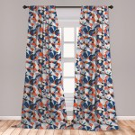 East Urban Home Ambesonne Mid Century Curtains Mosaic Of Various Shapes And Colors Modern Style Complex And Grid Window Treatments 2 Panel Set For Living Room Bedroom Decor 56 X 63 Multicolor