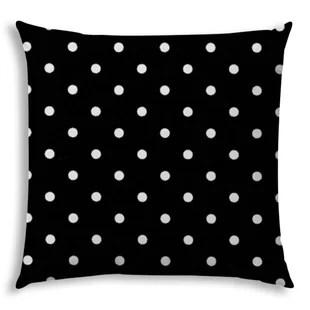black polka dot throw pillows you ll