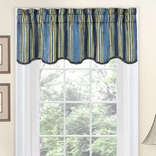 living room window valances what color to paint my with brown furniture birch lane quickview