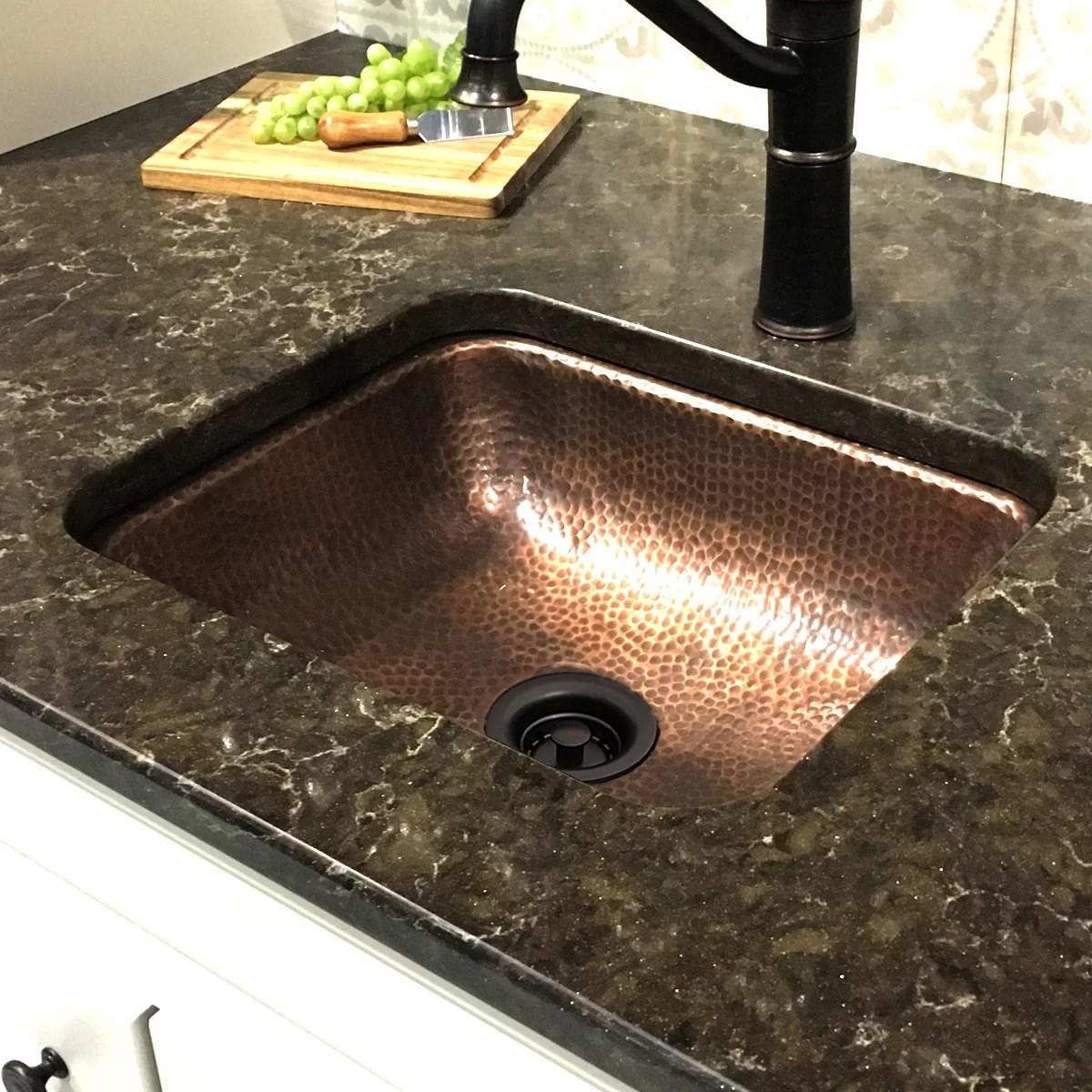 brightwork home 15 l x 12 w undermount bar sink