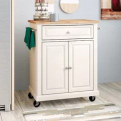 Kitchen Prep Cart 42 Cabinets Wayfair Quickview