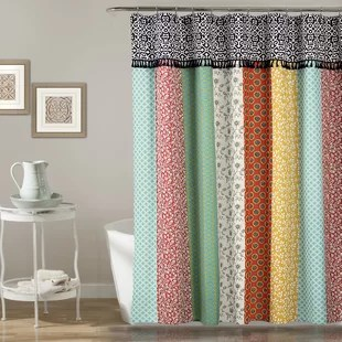 vahide single shower curtain